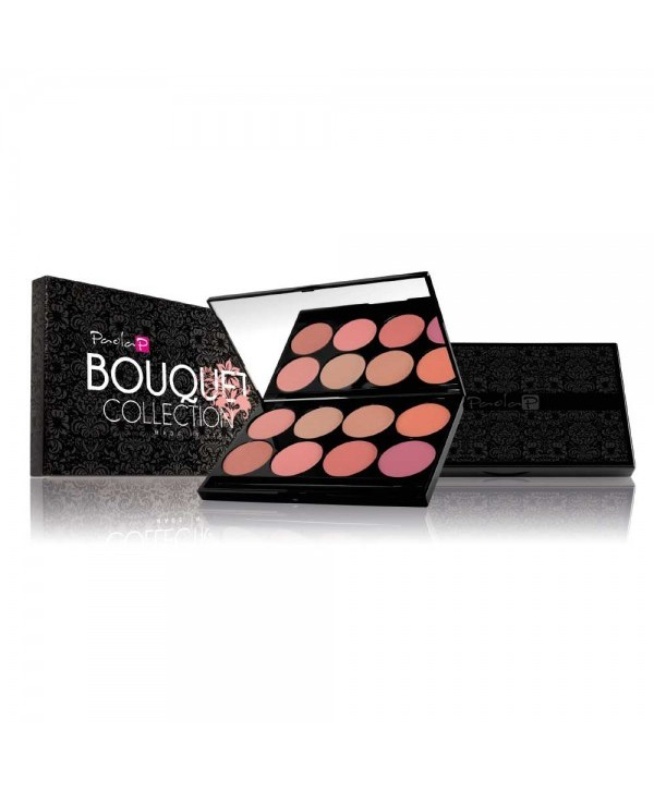 Professional blush palette bouqet collection