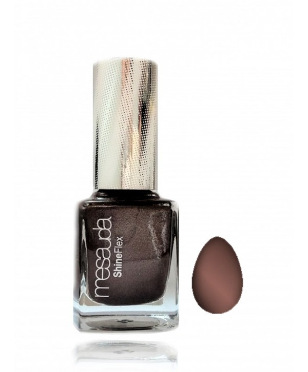 Nail polish with magnetic effect - Pewter Brown