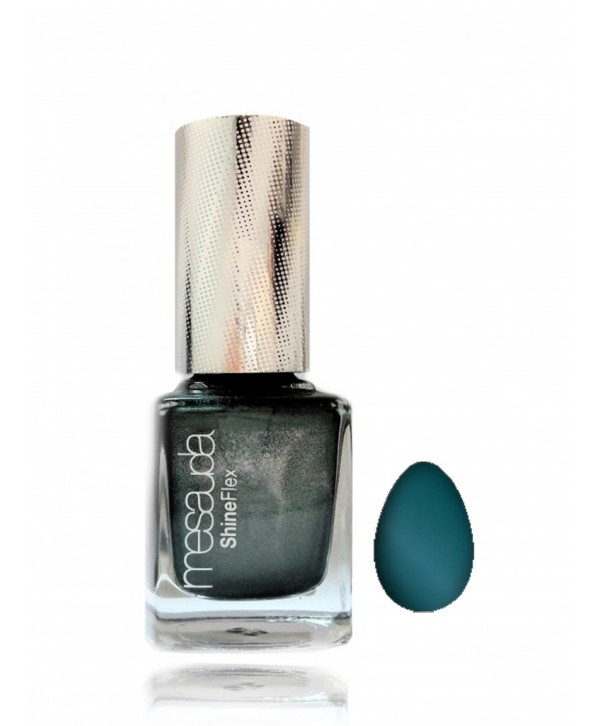Nail polish with magnetic effect - Steel Blue